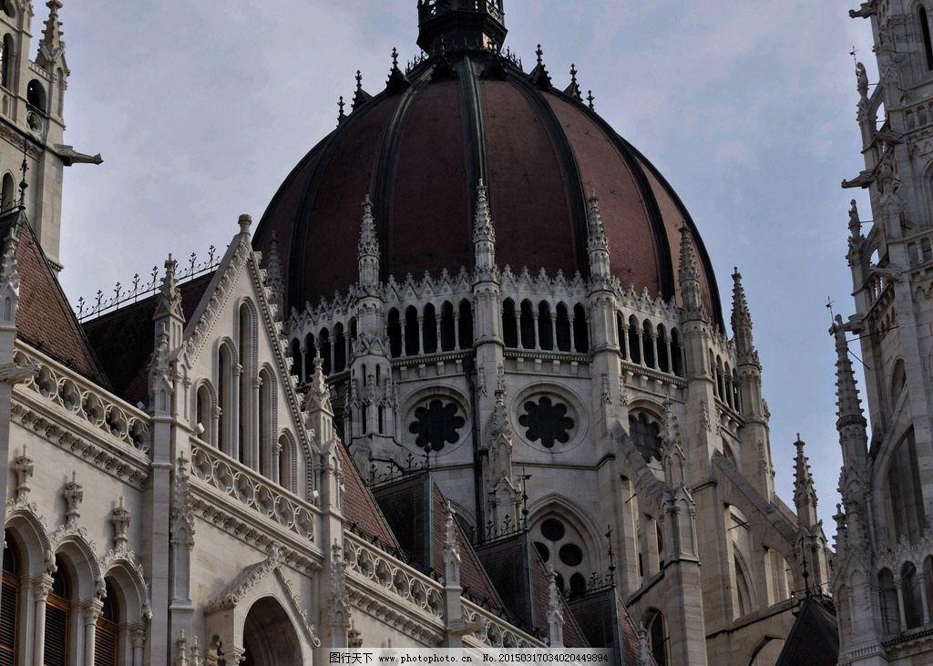 欧式建筑手绘唯美图片