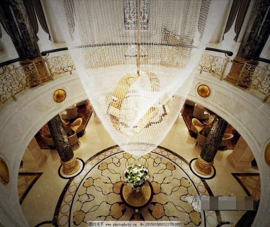 艺术大厅模型免费下载 创意 大厅 模型 欧式 艺术 装修 创意 装修
