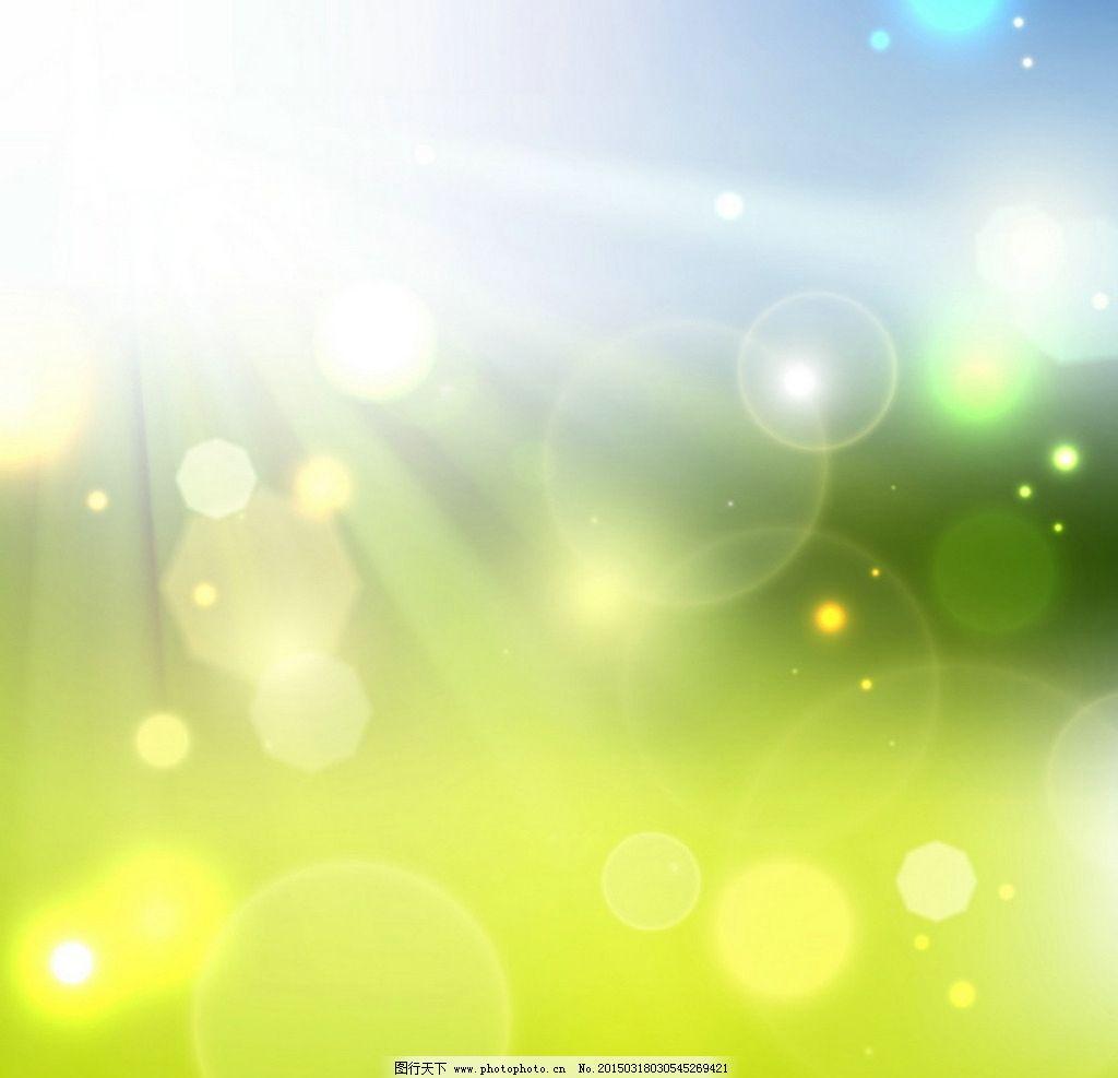 春天绿色背景图片