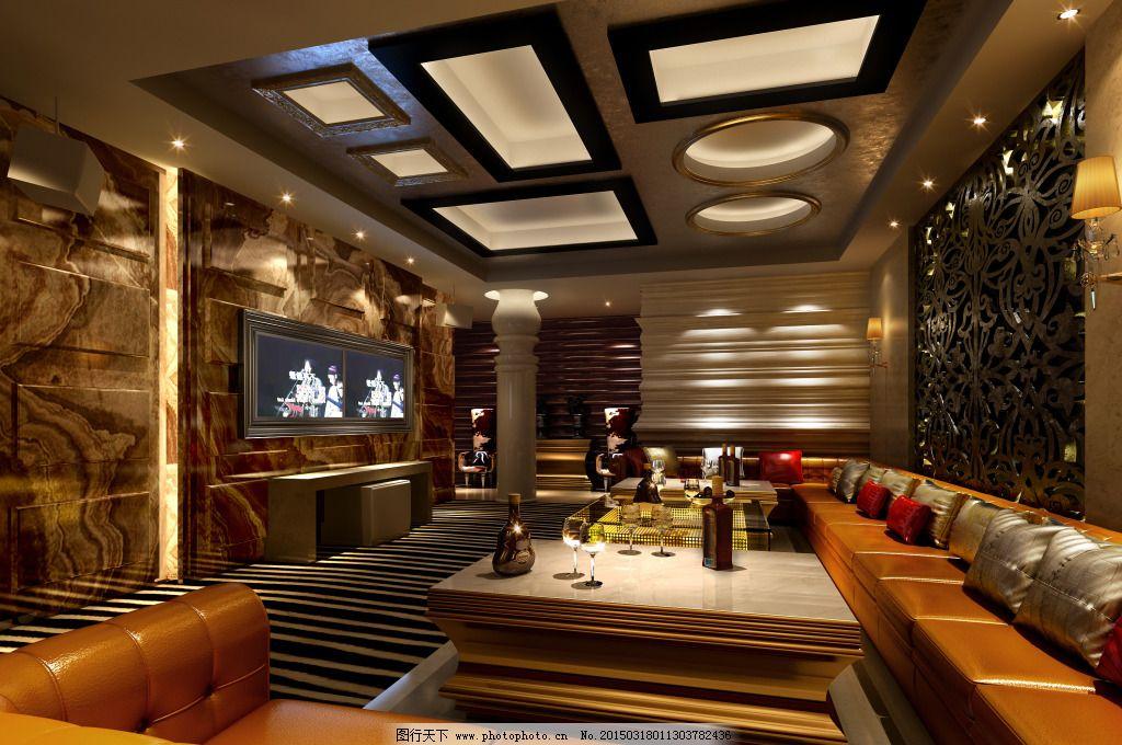 装饰 装修 工装 ktv包厢 装饰 装修        家居装饰素材 室内设计