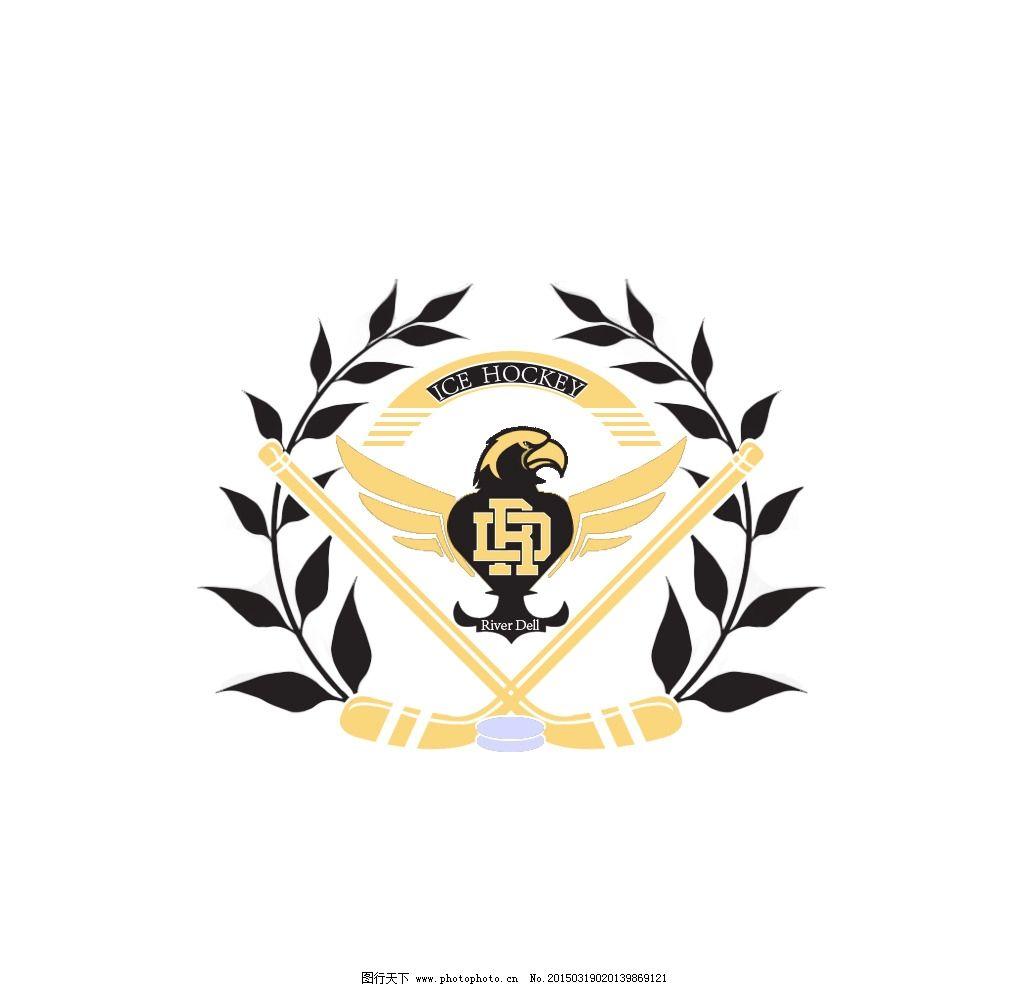logo设计 冰球 冰球logo 冰球logo设计 设计 标志图标 其他图标