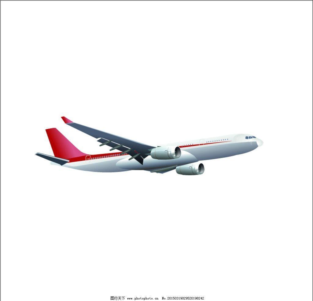 航空客机 矢量图 飞机 飞行