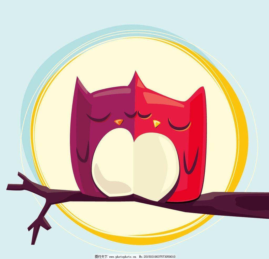 可爱小鸡 矢量 心形 清晰 卡通设计 广告设计 矢量卡通