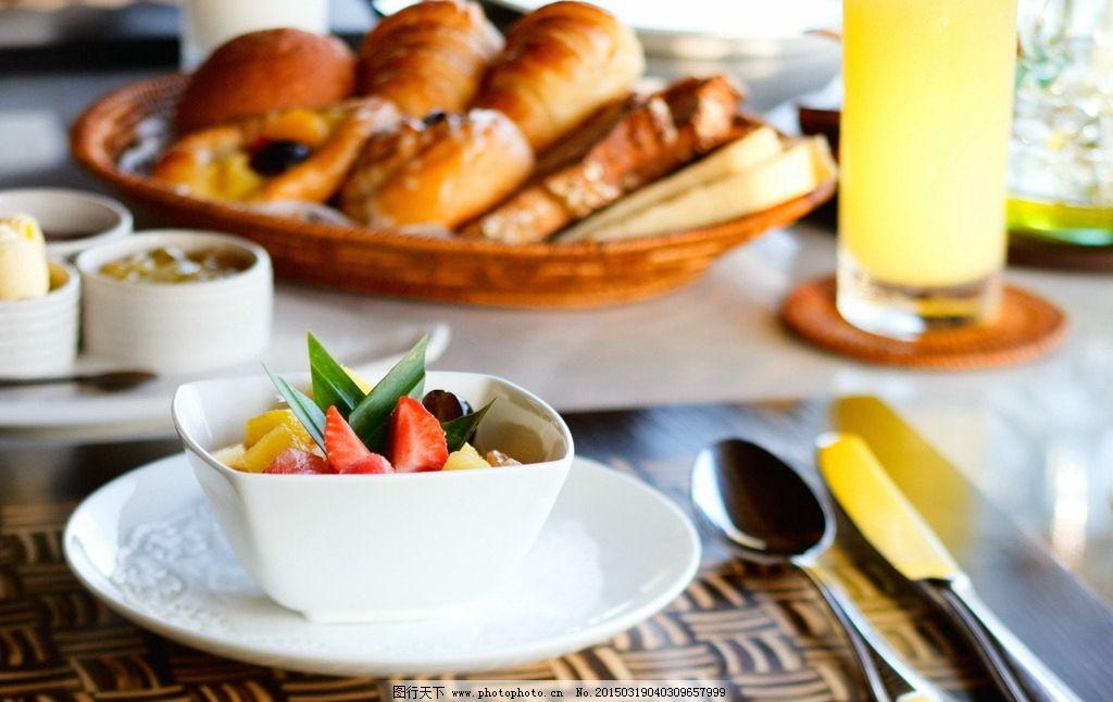 欧式早餐唯美壁纸