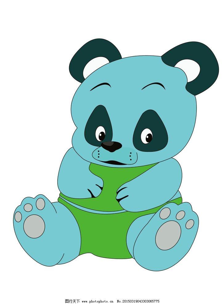 可爱卡通熊猫图片_ppt图表_ppt_图行天下图库