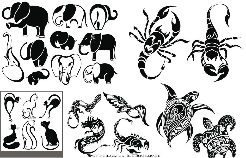 纹身刺青图案图片