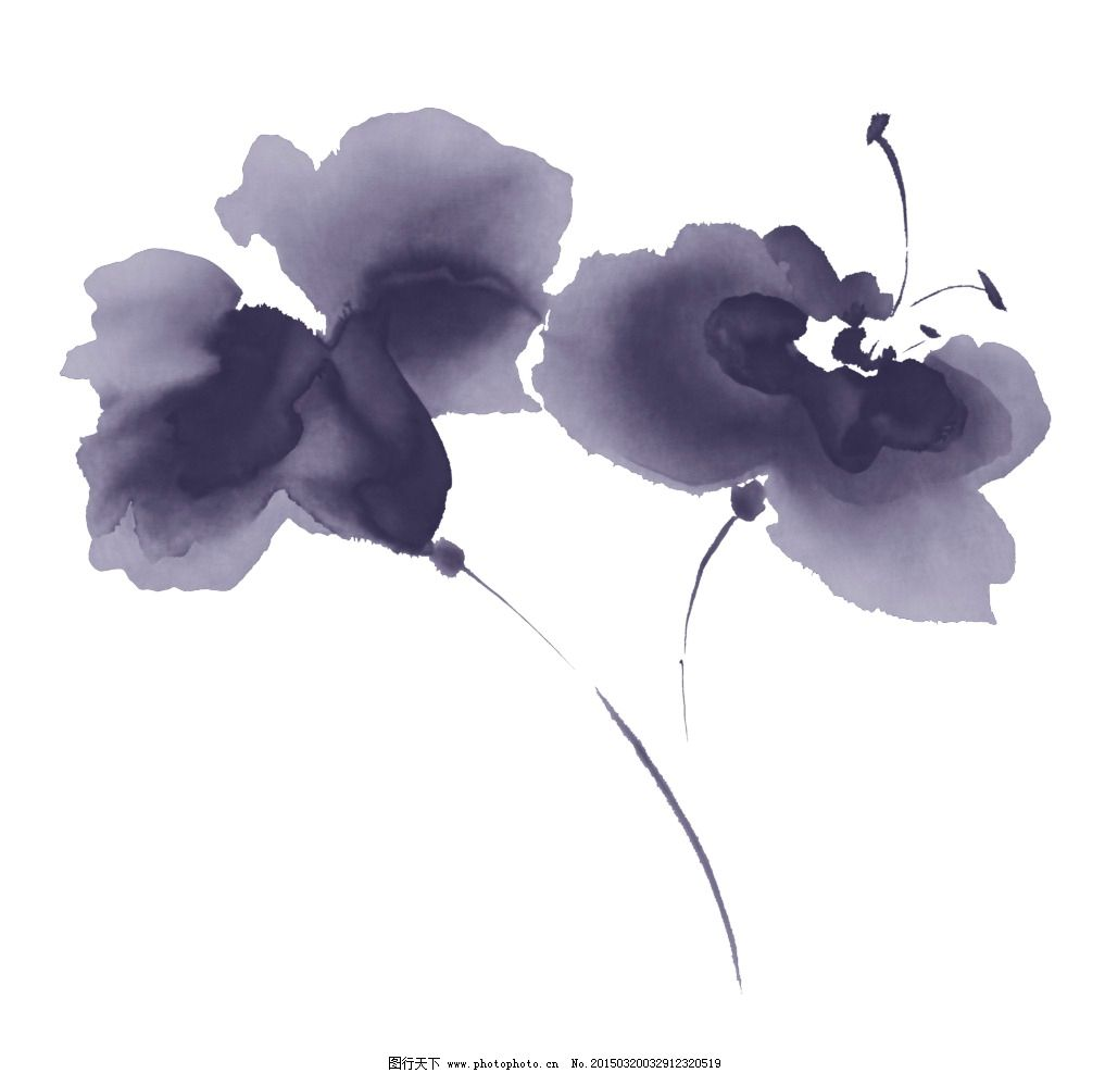 花瓣古风手绘头饰