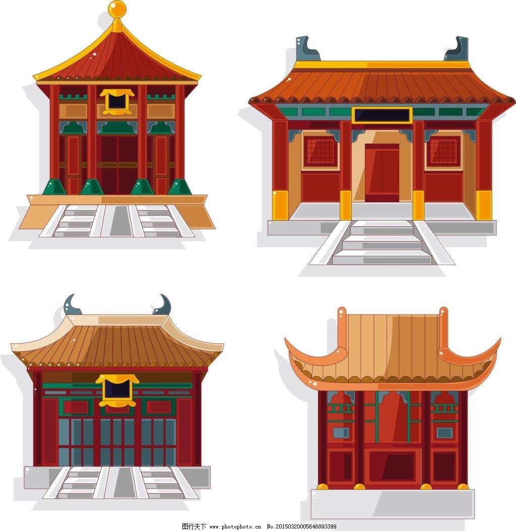中国古代庙宇建筑