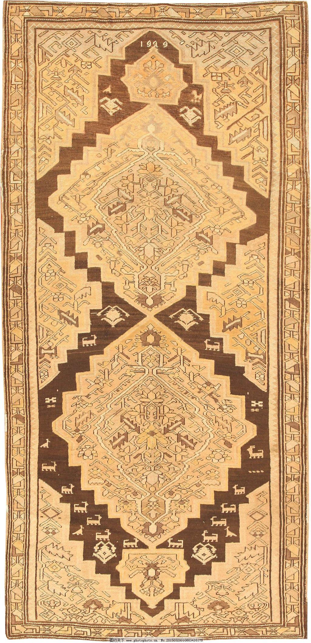 简约欧式地毯贴图_优推网