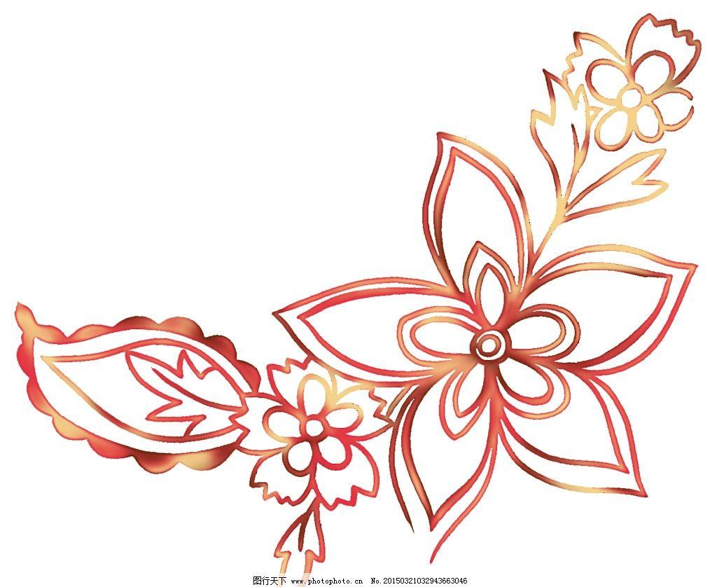 花背景 花朵 植物 唯美花 花朵矢量素材 立体花朵 三维鲜花 花瓣 剪纸