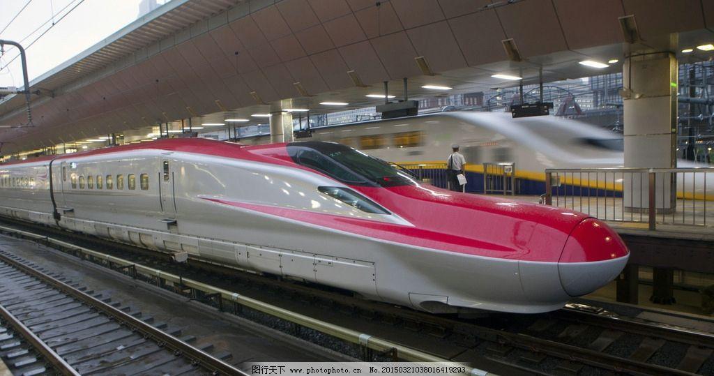 高铁 火车 列车 摄影 铁道 轨道 现代科技 交通工具 交通工具 摄影