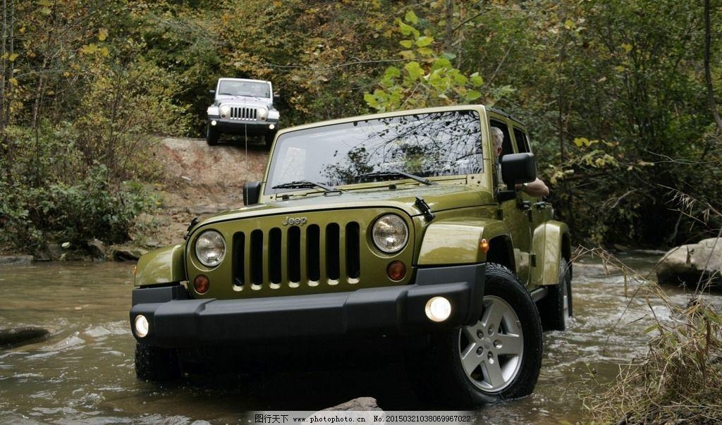 jeep 汽车 吉普 切诺基 jeep牧马人 牧马人 豪车 suv 新款 红色 行驶