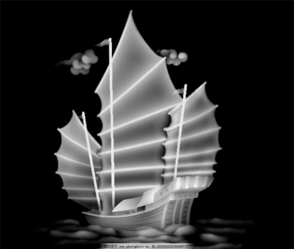 船艺术图案