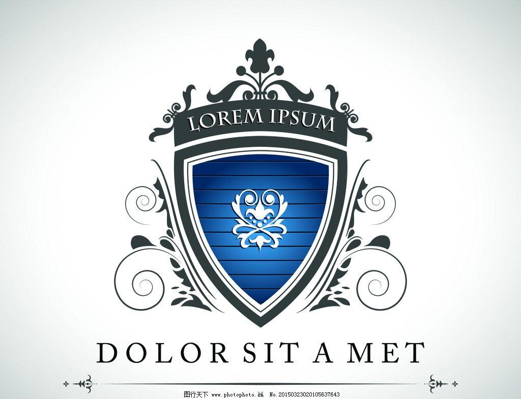 欧美盾牌 盾牌 盾牌素材 ai素材 标志  设计 标志图标 其他图标  eps