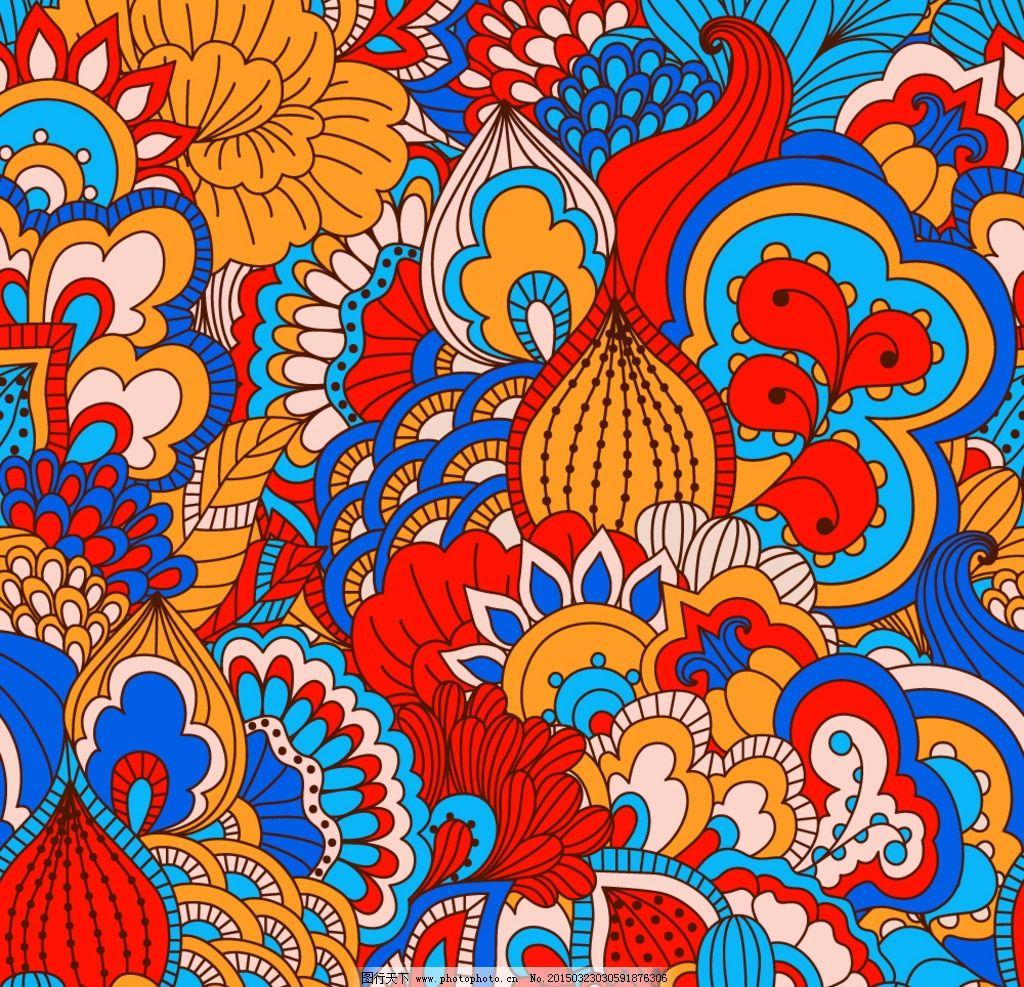 欧式花纹图片_卡通设计_广告设计_图行天下图库