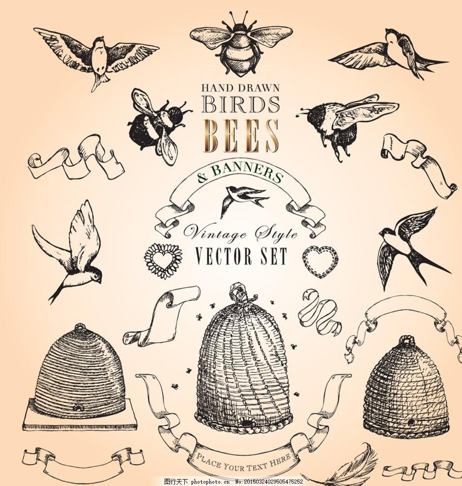 精美欧式动物花纹,欧式花纹 经典花纹 现代 时尚 边框