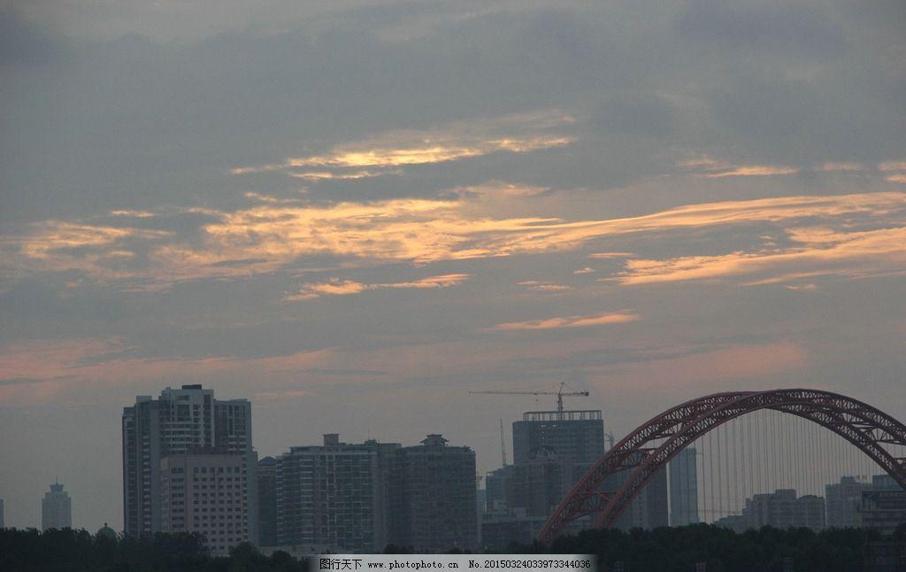 武汉城市风景手绘