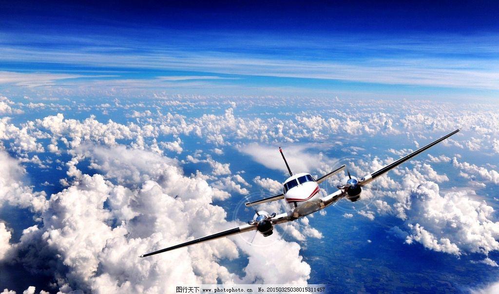 唯美 飞机 炫酷 客机 航空 民航 动感 交通 飞行器 蓝天 白云 摄影 现