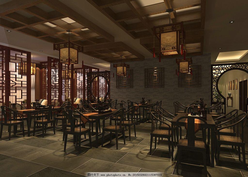 中餐厅图片