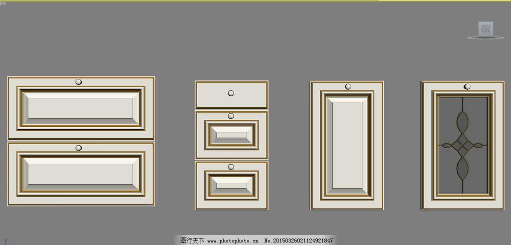 橱柜门板 实木橱柜 欧式橱柜图片