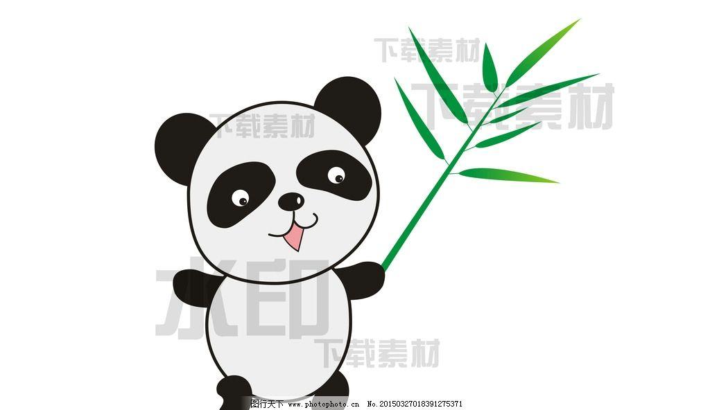 卡通熊猫图片_动漫人物