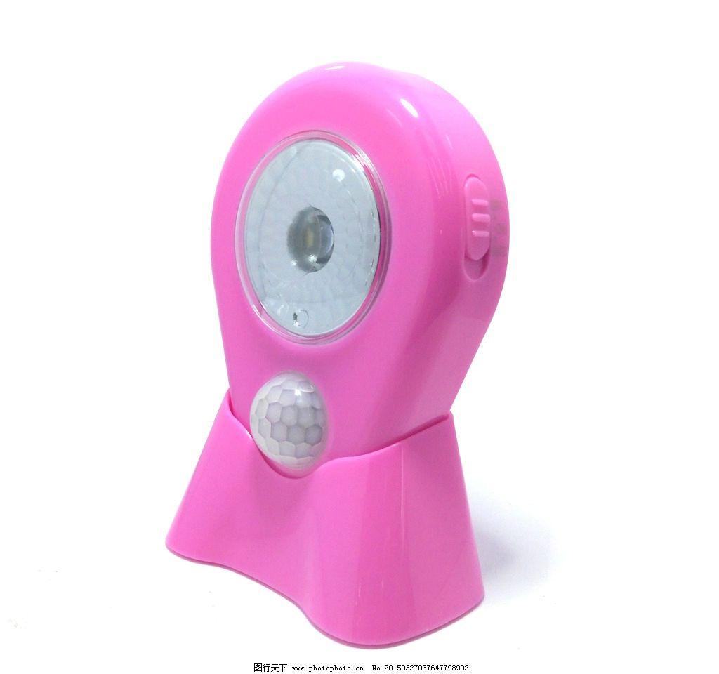 橙色小夜灯 led灯 床头灯 应急灯 手电筒 人体红外 感应灯 摄影 生活