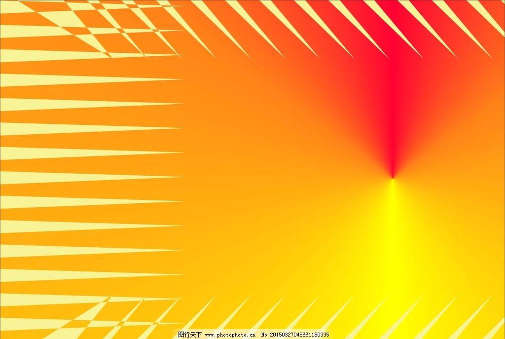 几何图形 个性图案 几何背景 红黄渐变 不规则图案  设计 现代科技