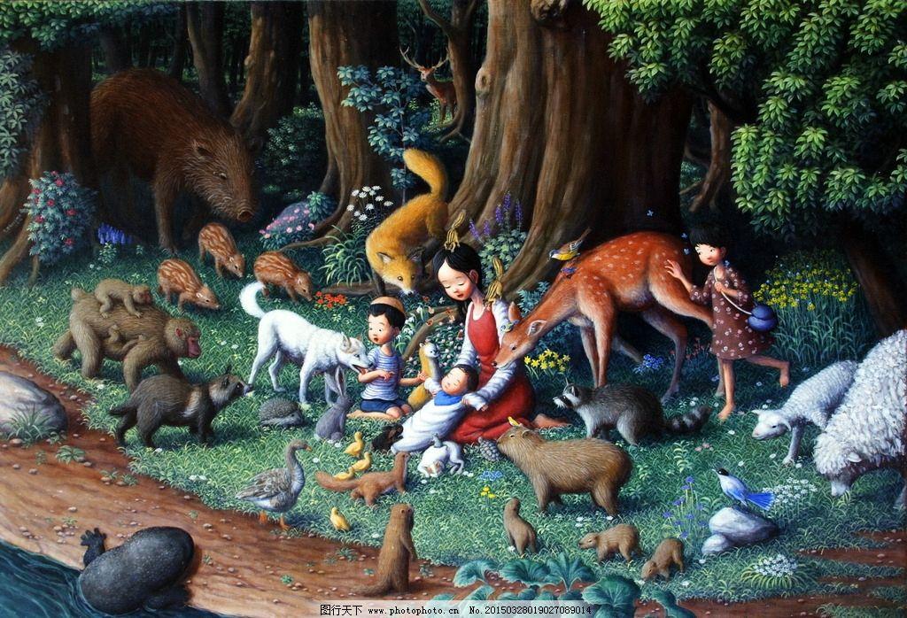 童话动物王国图片