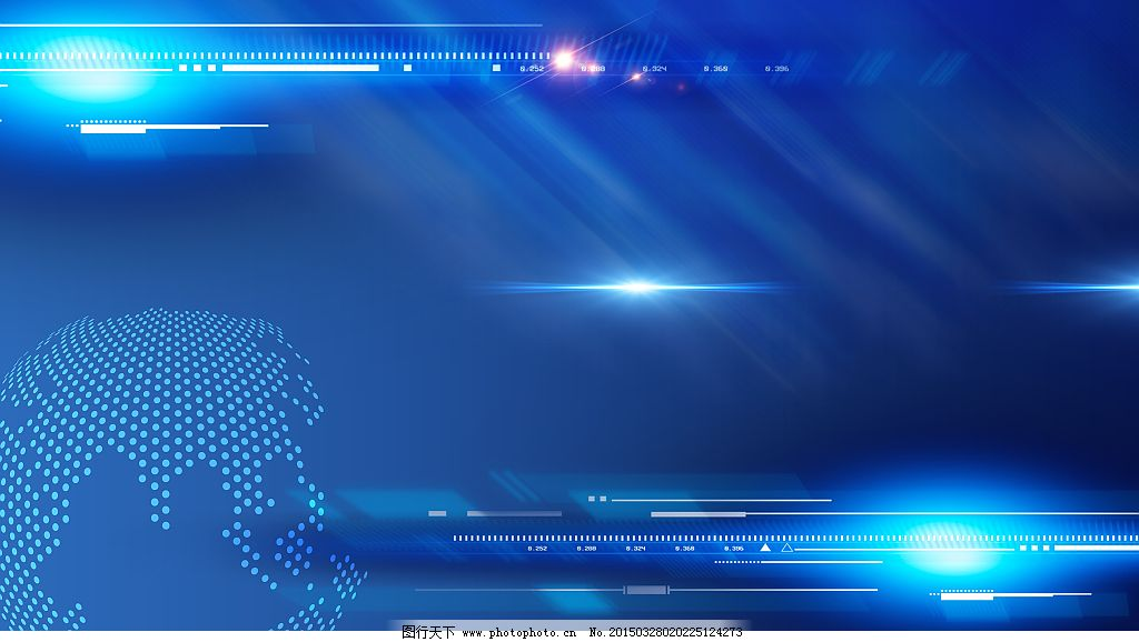 科技背景图片_背景底纹_底纹边框_图行天下图库