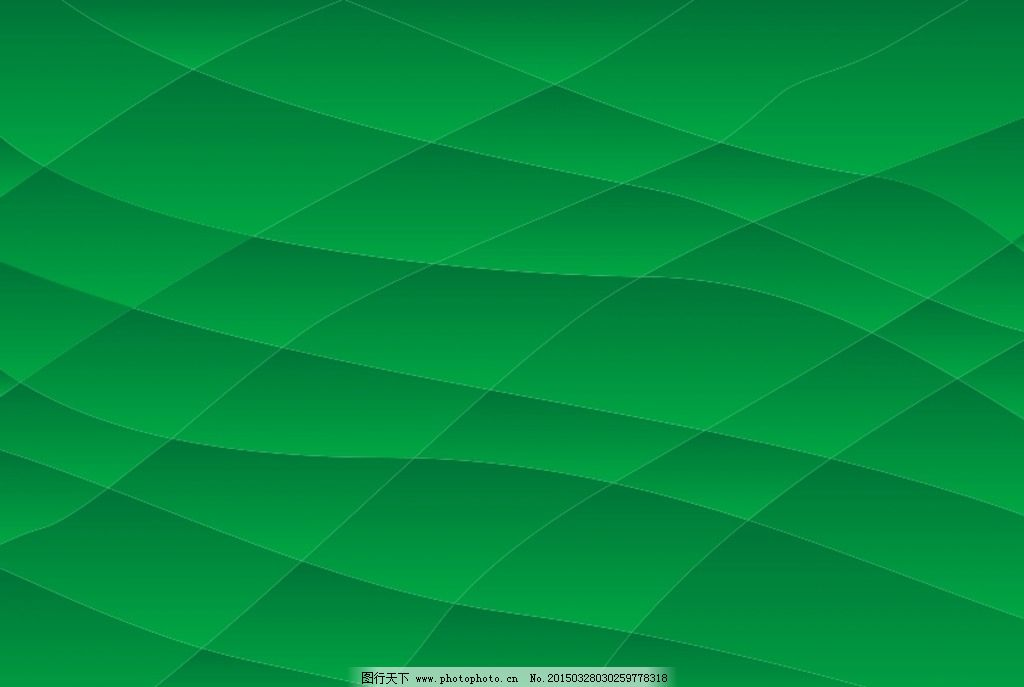 欧式绿色立体花墙纸