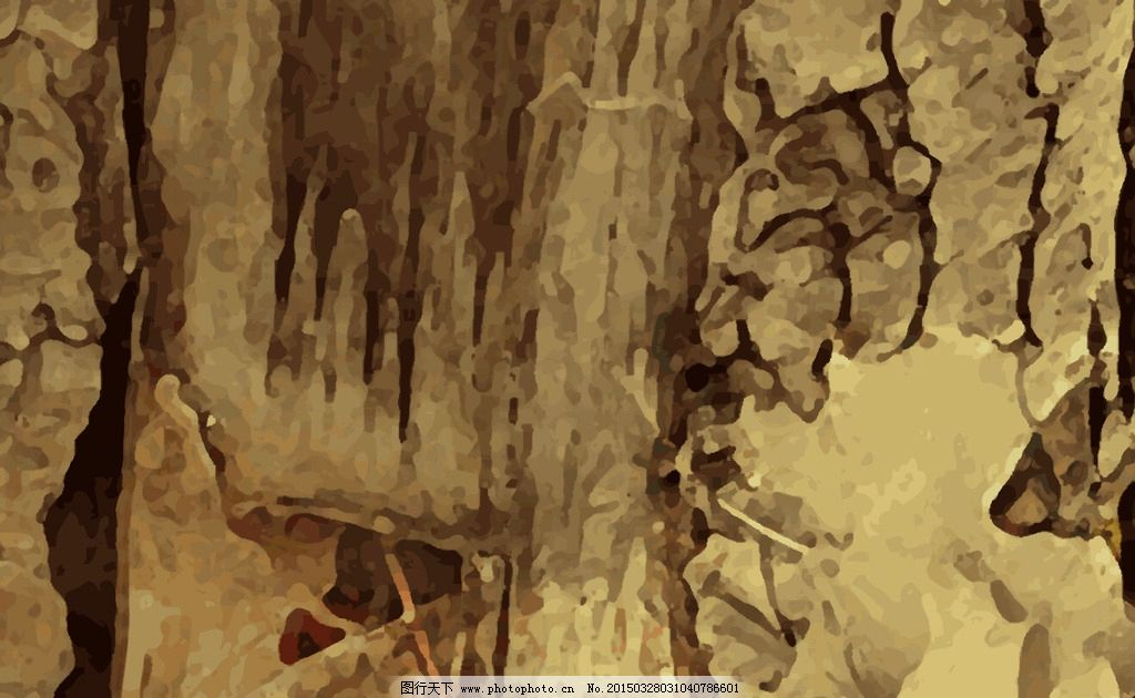 矢量树皮图片