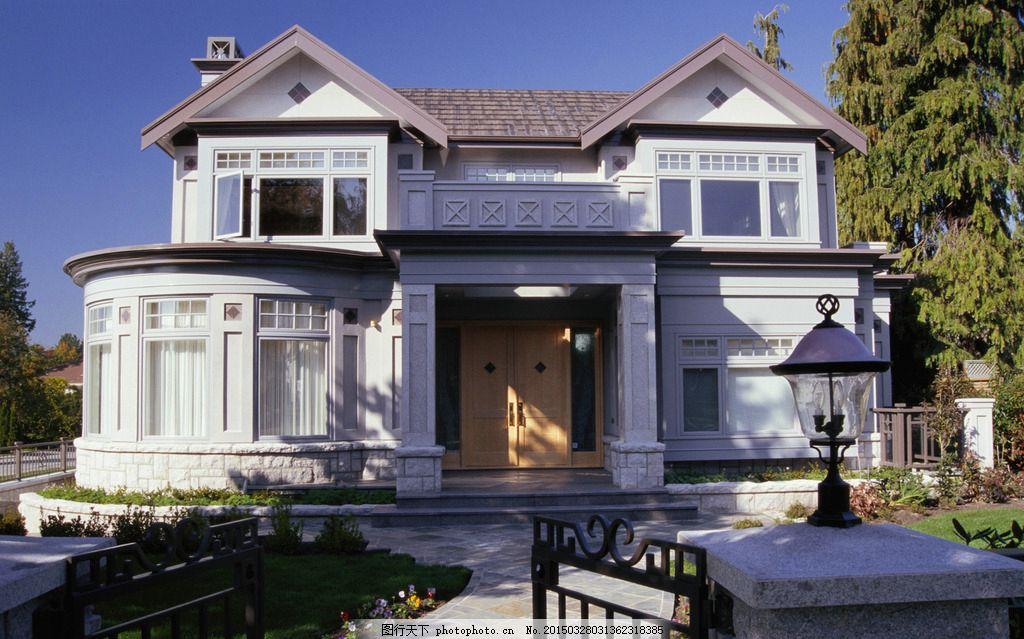 洋楼建筑 欧式建筑 欧洲元素建筑 洋楼 别墅 花园楼房 欧式风情 摄影