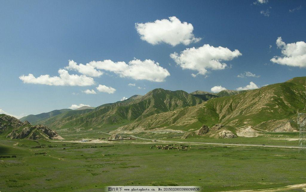 青藏高原图片