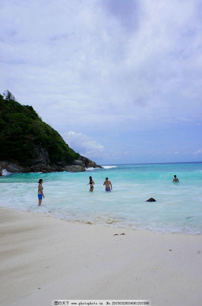 普吉岛 唯美 风景 风光 旅行 自然 泰国 大海 蓝天 白云 摄影