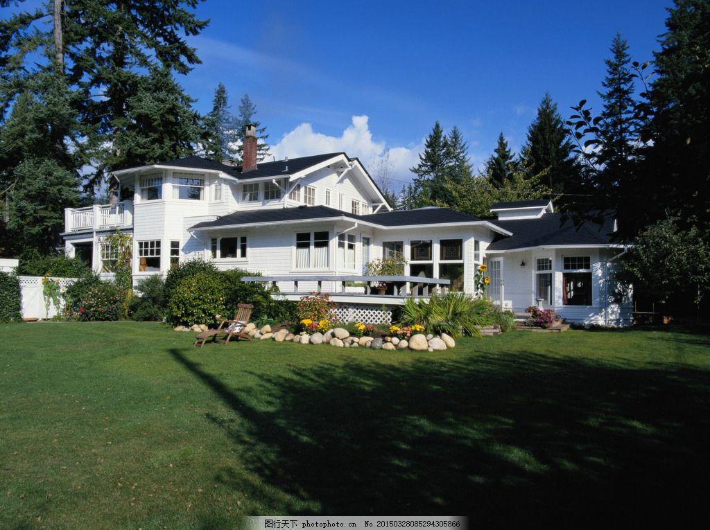 欧式建筑 欧洲元素建筑 洋楼 别墅 花园楼房 欧式风情 摄影 建筑园林