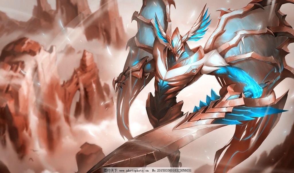 lol 英雄联盟 剑魔 壁纸 高清 设计 动漫动画 动漫人物 96dpi jpg