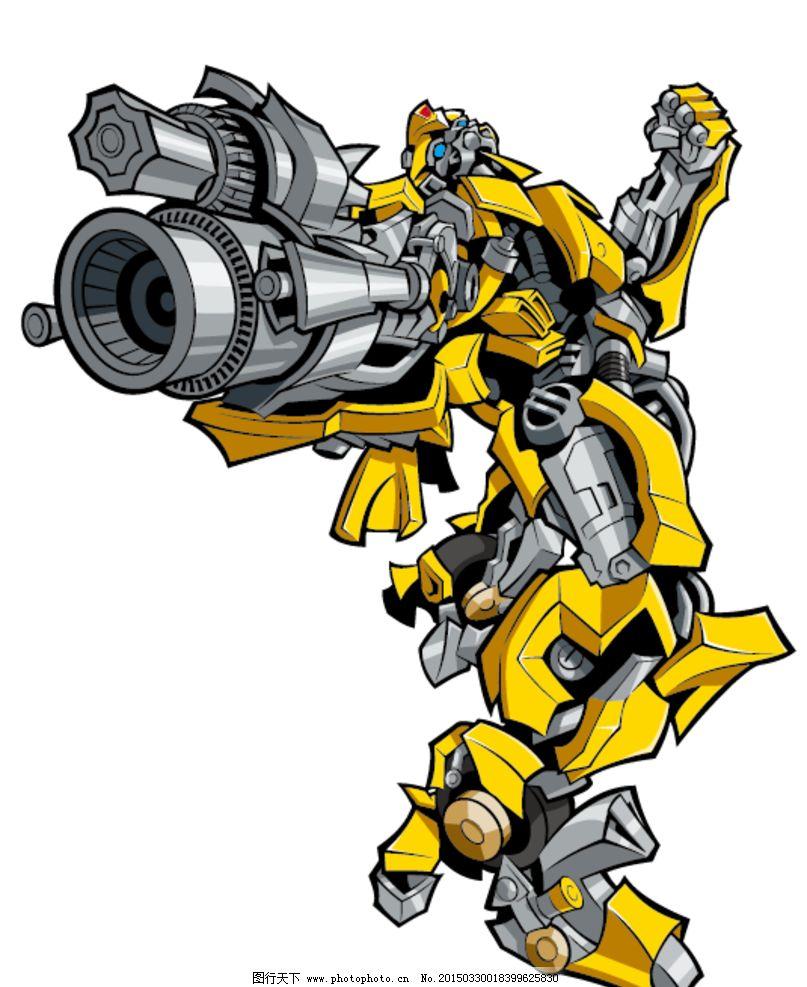 变形金刚 大黄蜂 卡通
