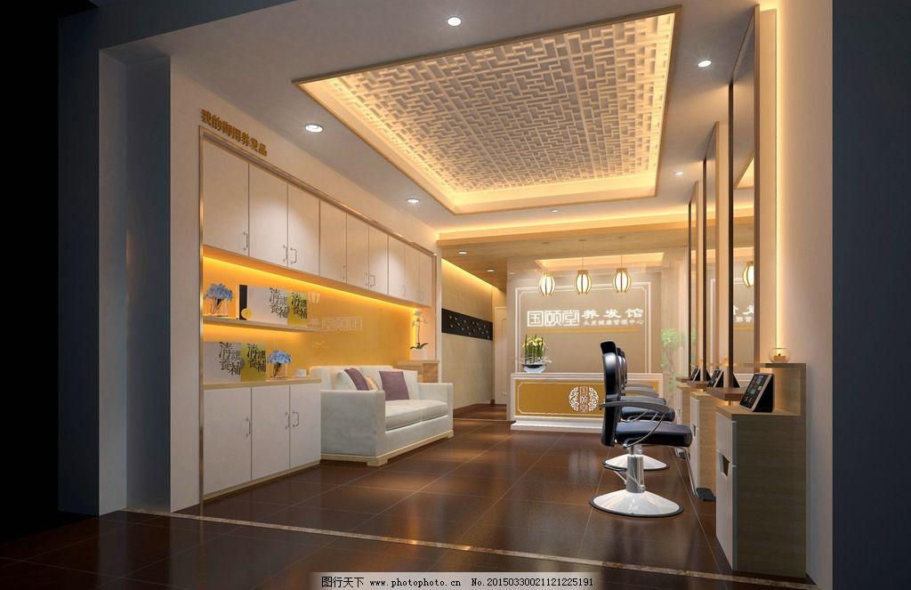 养发馆加盟店 国颐堂 养发馆装修图 养发馆 设计 3d设计 室内模型 72