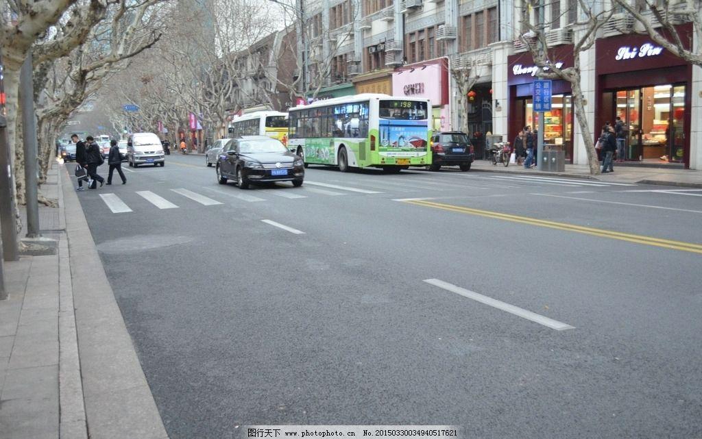 上海街道图片
