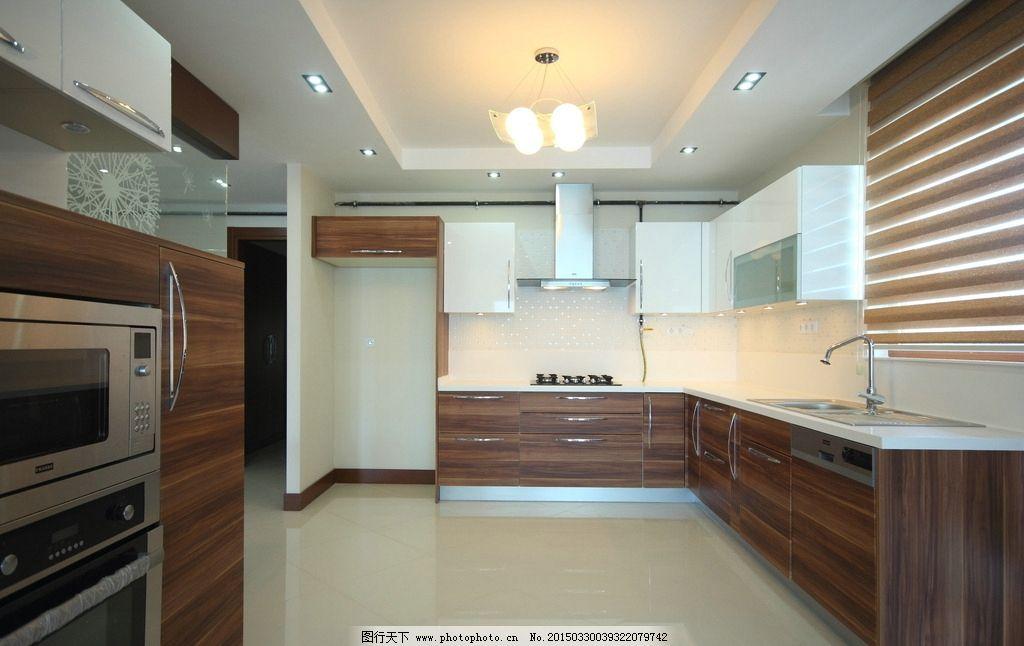 厨具 冰箱 欧式厨房 开放式厨房 一体式厨房 西式厨房 现代厨房图片