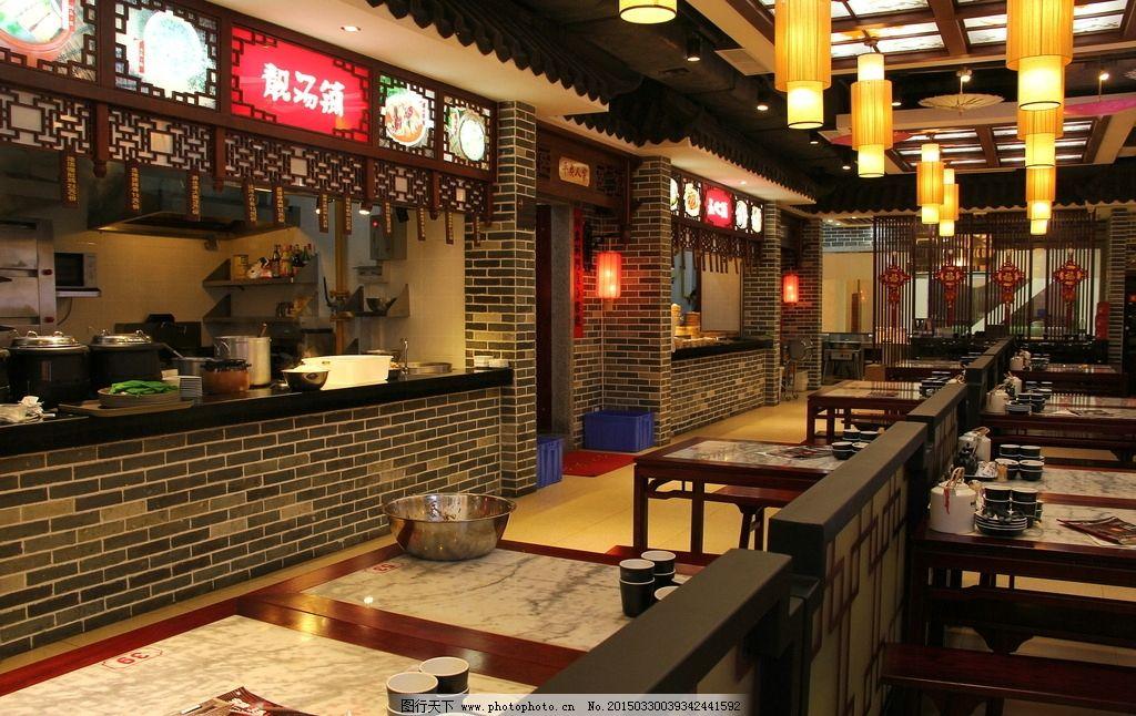 中式风格店铺图片