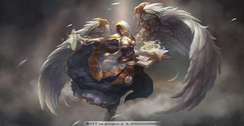 魔兽世界 牧师 纯白 职业 治疗 设计 动漫动画 动漫人物 72dpi jpg