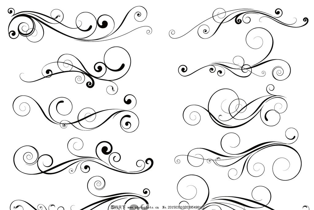 花边 边框 装饰花纹 花纹背景 古典花纹 复古 植物花纹 建筑花纹 手绘