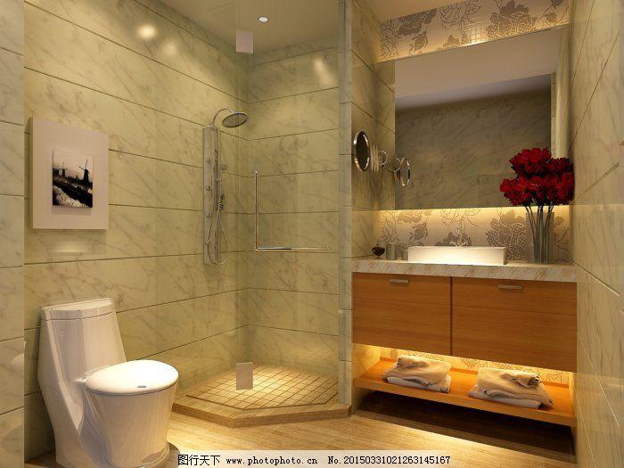 3d模型 室内效果图 卫生间 洗手间模型 3d模型 卫生间 室内效果图 3d