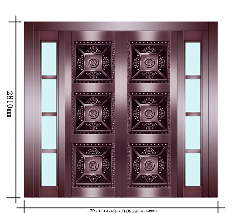 铜门 金属门 仿铜门 复合铜门 别墅大门 重庆铜门 重庆钢门 欧式铜门