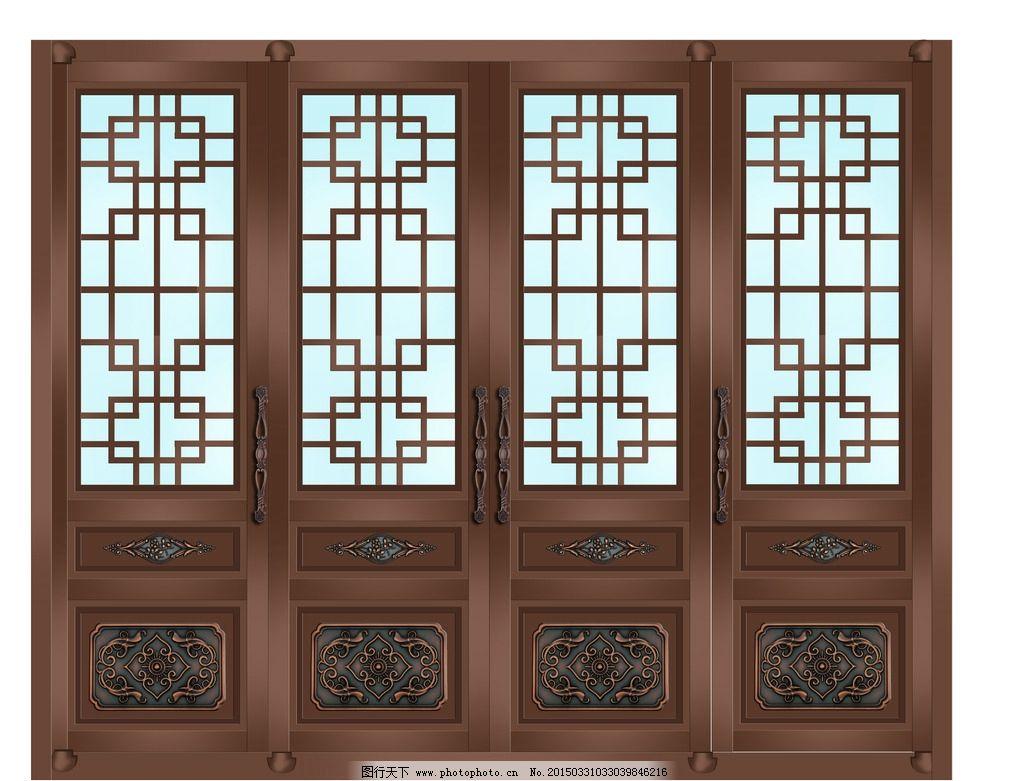 铜金属门设计图片